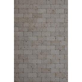 Натуральный камень Травертин LIGHT TUMBLED 1x7,5x15 см