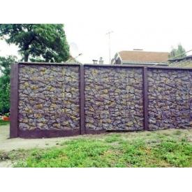 Еврозабор двухсторонний Бут 2x0,5 м