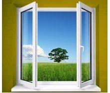 Окно WDS Classic шпульповое открывание 1300x1400 мм