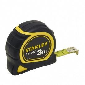 Рулетка STANLEY Tylon 3 м 12,7 мм ергономичн корпус пластик + еластомер