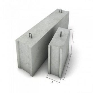 Блок фундаментный ФБС Т 2400x300x600 мм