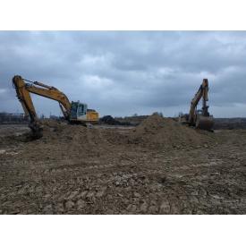 Підготовка ділянок під будівництво екскаваторами JCB 240 nlc