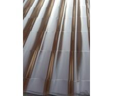 Металлочерепица Монтеррей глянцевая 1180х1905 мм коричневая