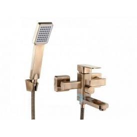 Змішувач для ванни квадратний хром 35 мм (1*8) (LEB3-A123-Zegor)