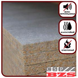 Цементно-стружечная плита БЗС 1600х1200х10