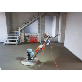 Устройство стяжки пола машинным способом