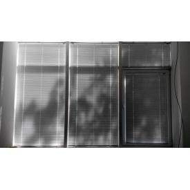 Горизонтальні жалюзі на вікна 25/16 мм білі