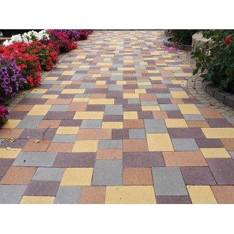 Тротуарная плитка Золотой Мандарин 40 мм с укладкой