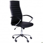 Офісне крісло AMF Jet HB XH-637 1100-1210х610х650 мм чорний