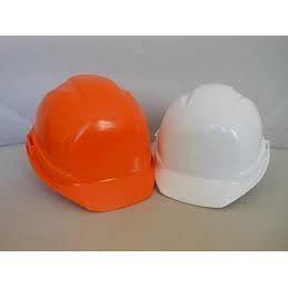 Каска строительная оранжевая