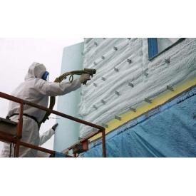 Теплоізоляція стін будинку пінополіуретаном