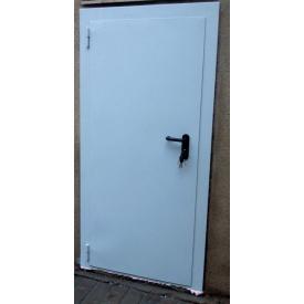 Утепленная дверь ПромТехноКом металлическая 2000х800 мм
