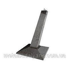 Фундамент під опори ліній електропередач Ф 4-4