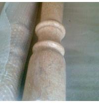 Балясина з мармуру Tia Roza світло-кремова