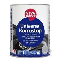 Краска Vivacolor Universal Korrostop красная, 3 л