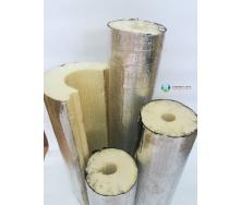 Изоляция для труб из пенополиуретана с фольгопергамином 273х40 мм
