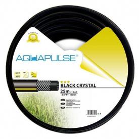 """Шланг поливочный Aquapulse Black Crystal 25 м 3/4"""""""