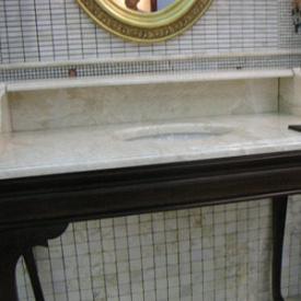 Стільниця з мармуру Crema mare бежева