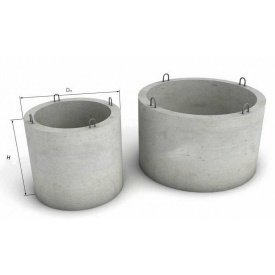 Кільце колодязне залізобетонне КС 15.9 1500x890 мм