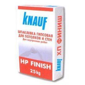 Цементная фасадная штукатурка Knauf HP Finish 25 кг
