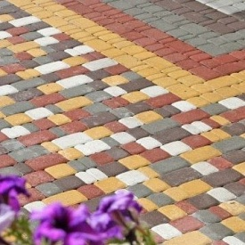 Плитка тротуарна Старе місто 40 мм