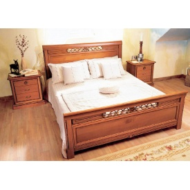 Изготовление деревянной кровати