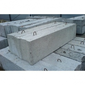Блок фундаментный ФБС 24.4.6 2380х400х580 мм