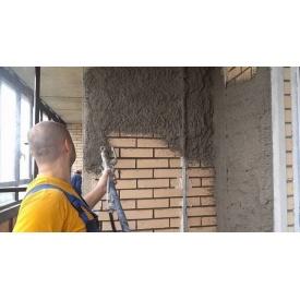 Штукатурка стін в будинку машинним способом