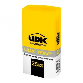 Клей для газобетону UDK TBM 25 кг