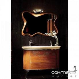 Комплект меблів для ванної кімнати Godi CT-21 червоний дуб