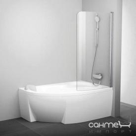 Шторка для ванны Ravak CVSK1 160/170 R белый/прозрачное 7QRS0100Y1 правая