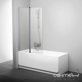 Шторка для ванны Ravak CVS2-100 L полированный алюминий/прозрачное 7QLA0C00Z1 левая