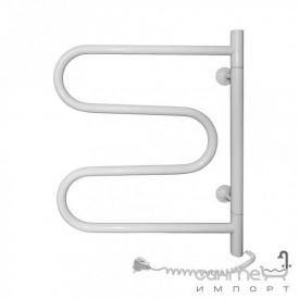 Электрический полотенцесушитель поворотный Navin Змеевик 25 (12-018000-5060) белый