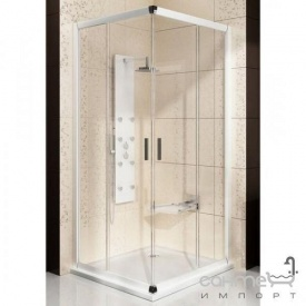 Дверь душевая Ravak Blix BLRV2K-100 белый/графит 1XVA0100ZH