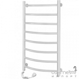 Электрический полотенцесушитель Navin Камелия 480x800 12-007130-4880 белый, подключение слева
