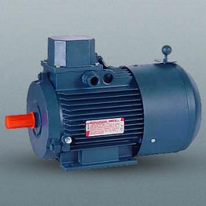 Двигун з вбудованим електромагнітним гальмом АІР100L8/4E 1,2 кВт