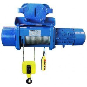 Таль електрична канатна стаціонарна Podemcrane MT316 6,3 т