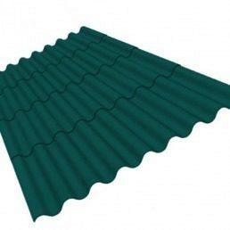Керамопласт каскад 5x870x1880 мм зелений