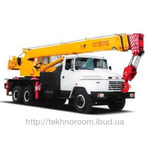 Послуги автокрана КС-55712 25 т 22 м