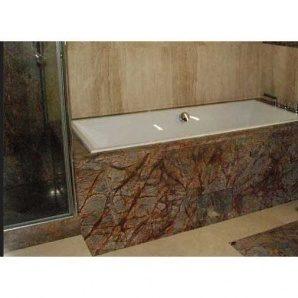 Облицювання ванної кімнати гранітом