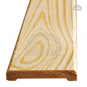 Наличник дерев'яний сосна не шпонований 12х60 мм