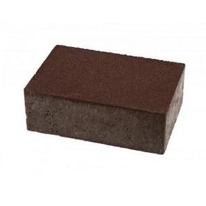 Тротуарная плитка UNIGRAN Монолит стандарт коричневая 160х240х80 мм