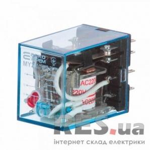 Реле промежуточное электромагнитное MY4 (AC220) АскоУкрем