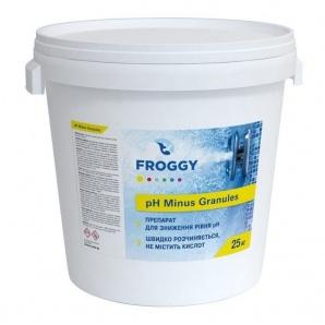 Гранулы FROGGY pH-Минус Экстра 25 кг