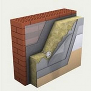 Вата фасадная минеральная ТехноНИКОЛЬ ТЕХНОФАС ЭФФЕКТ 1200х600х80 мм