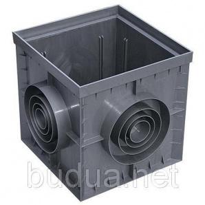 Дождеприемник PolyMax Basic 30.30 пластиковый серый