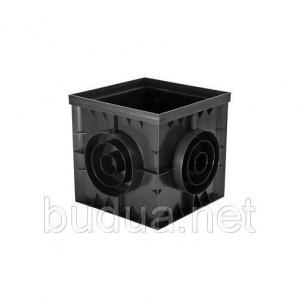 Дождеприемник PolyMax Basic 30.30 пластиковый черный