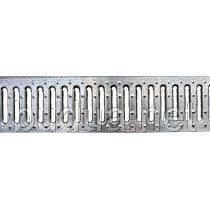 Решетка Basic 10.14.100-К штампованная стальная оцинкованная
