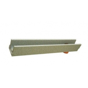 Лоток BetoMax Basic 10.14.13-Н06-11 бетонный с вертикальным отводом с уклоном