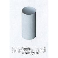 Труба водосточная Ø74, дл. 4м, белая